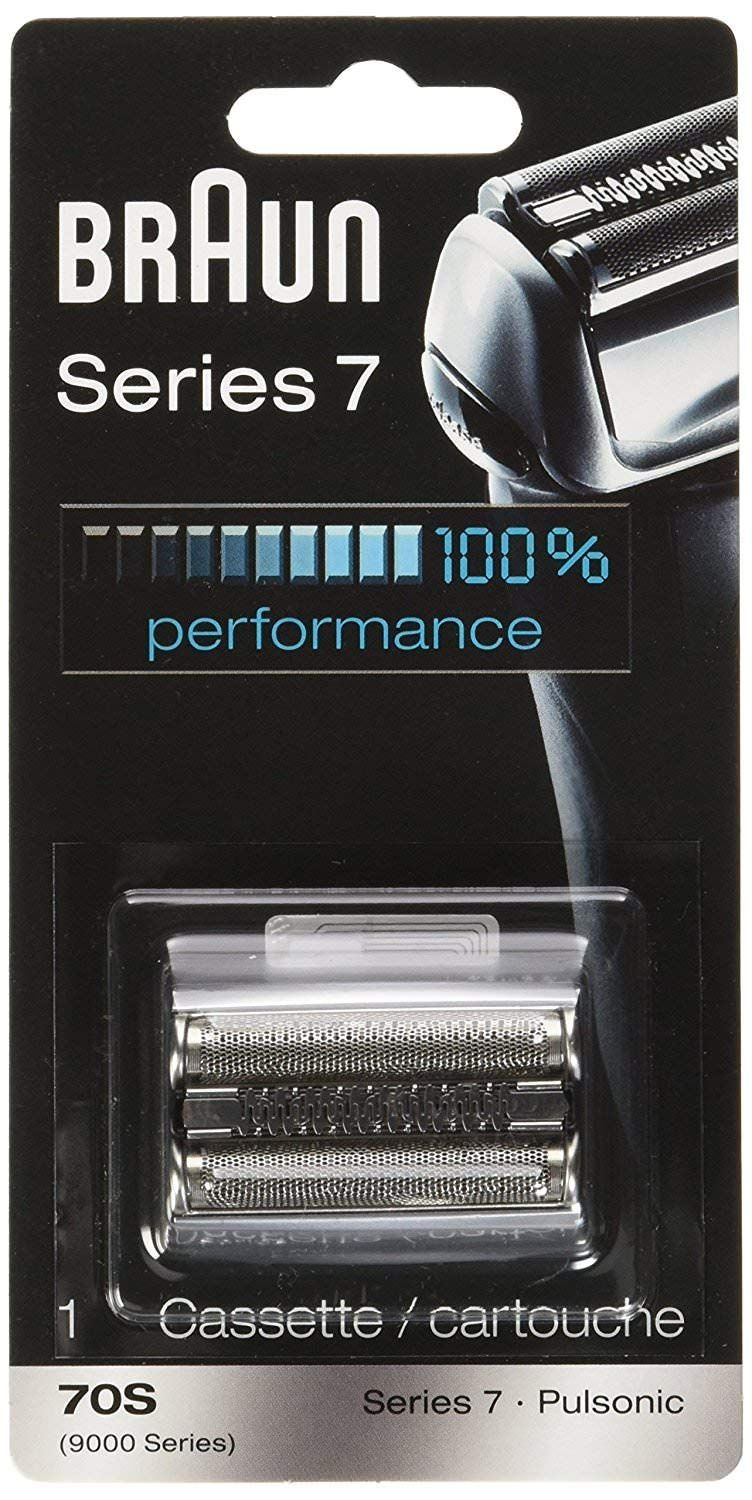 Braun Pulsonic Series 7 70s Foil And Cutter Replacement Head Compatible With Models 790cc 7865cc 7899cc 7898cc 7893s 760cc 797cc 789cc Braun Series 7 Foil Shaver Best Shave