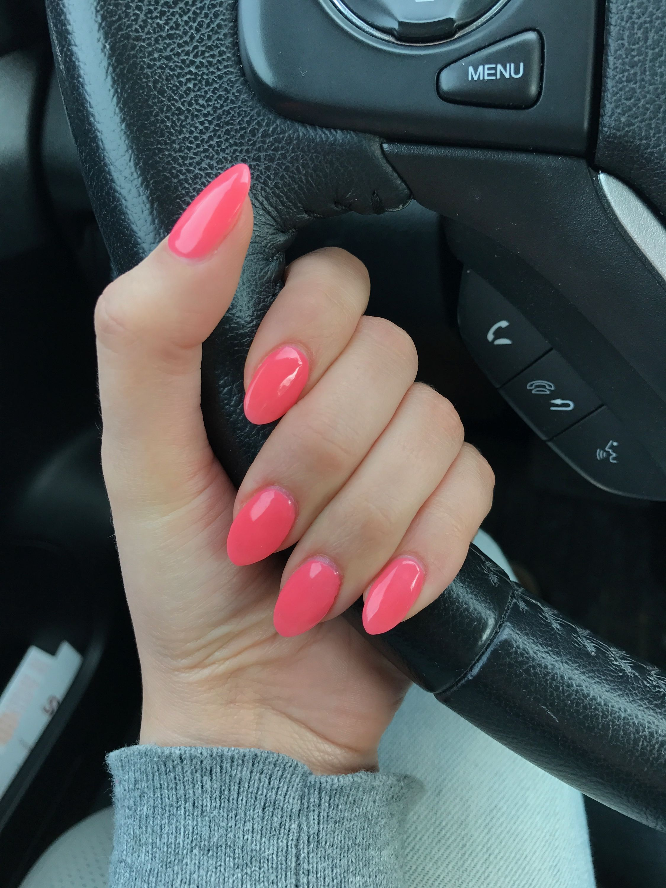 Beautiful pink acrylic nails double team dynamicpunch amazing