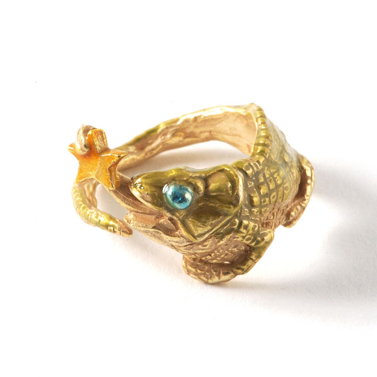 Palnart Poc Chameleon Ring   Chameleons, Lizards and Ring