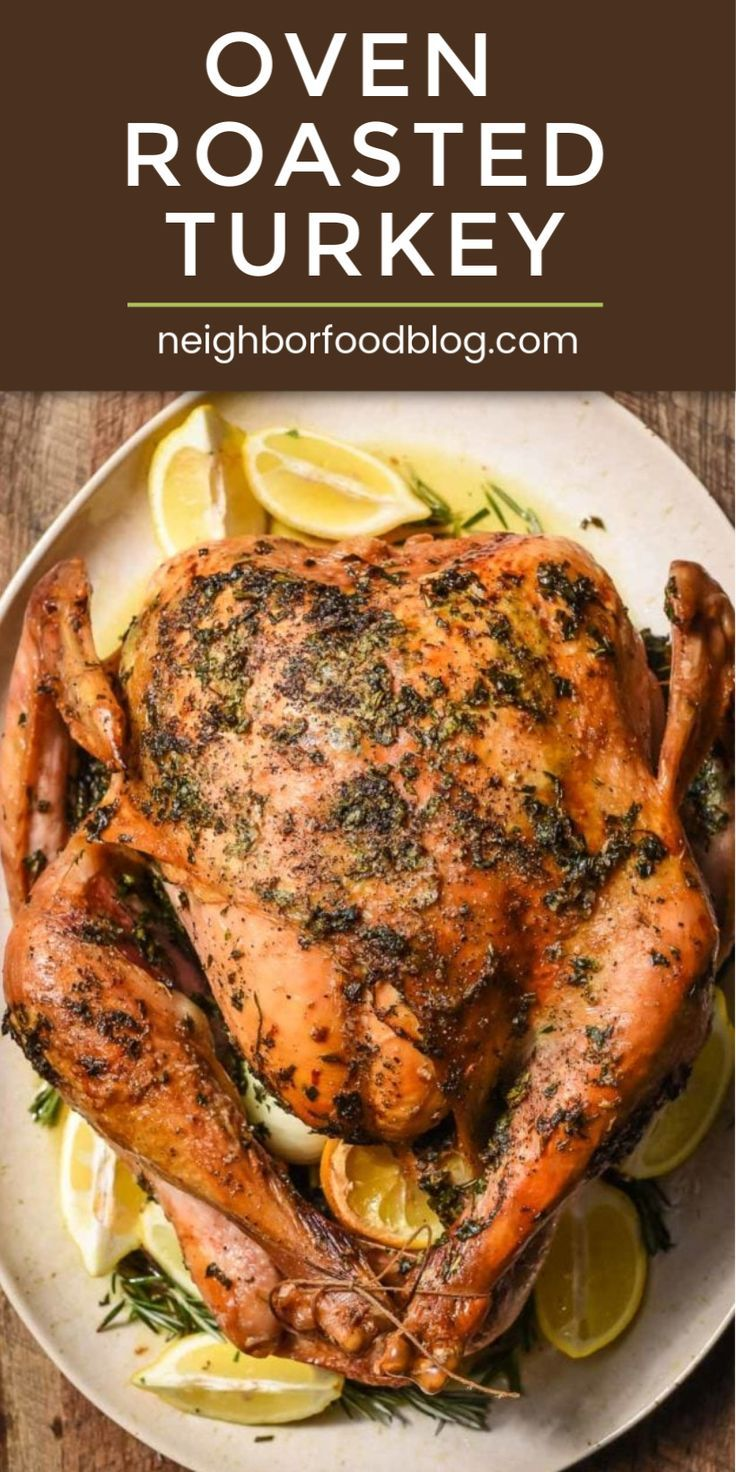 Oven Roasted Turkey (Easy Recipe with VIDEO) | NeighborFood