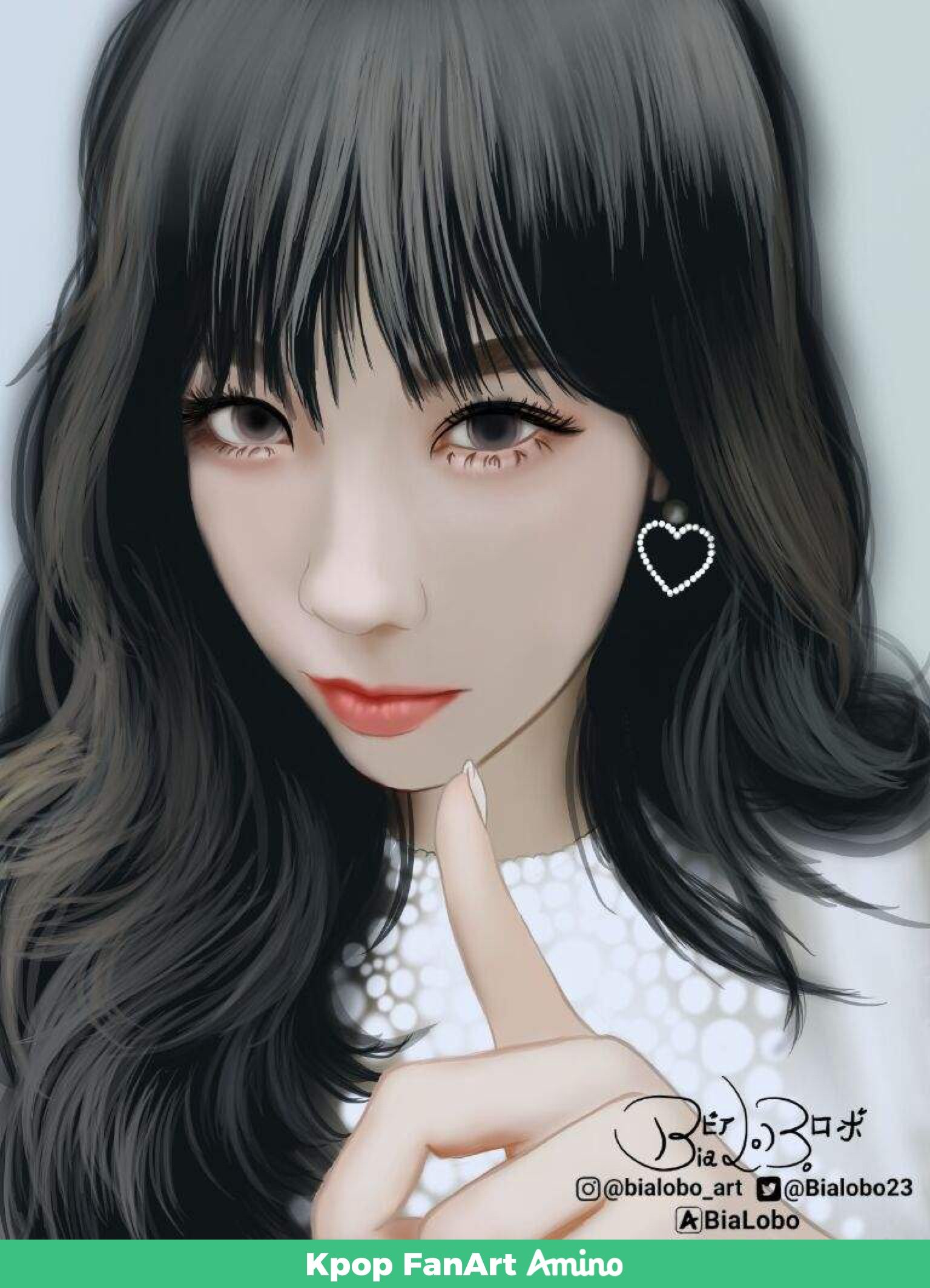 Pin By Teresa On Kpop Fanart Art Girl Taeyeon Korean Art