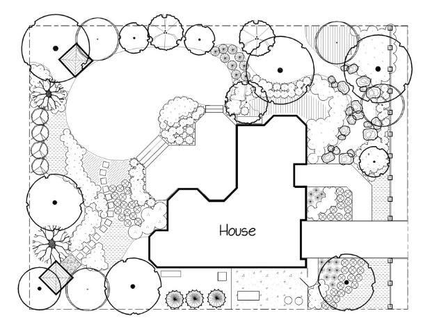 Basic Principles Of Landscape Design Figure 3 Meandering Lines In The Landsc Architecture Concept Drawings Landscape Plans Landscape Architecture Drawing