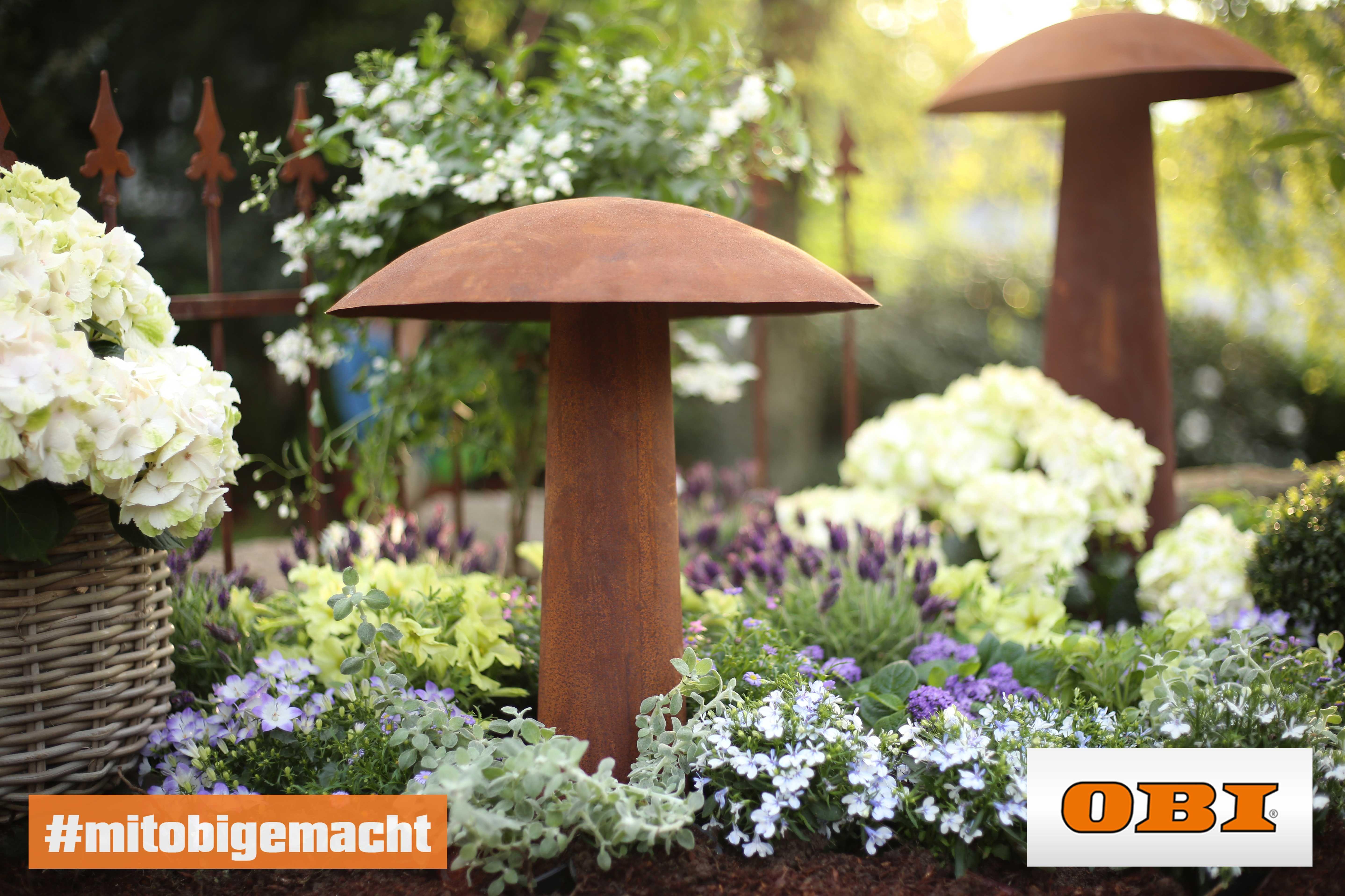 Blumenbeet Gestalten Tipps Zur Farbkomposition Obi Blumenbeet Gestalten Blumenbeet Gestalten