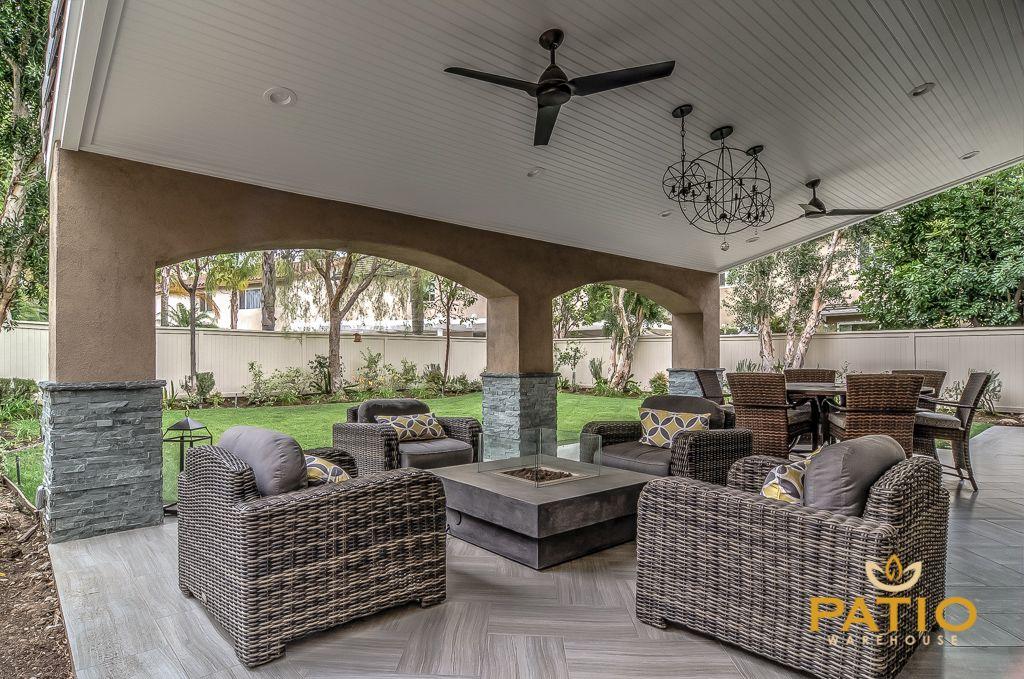 Superb Patio Warehouse Inc. Custom Designed U0026 Built This Outdoor Living Area,  Including Custom Wood