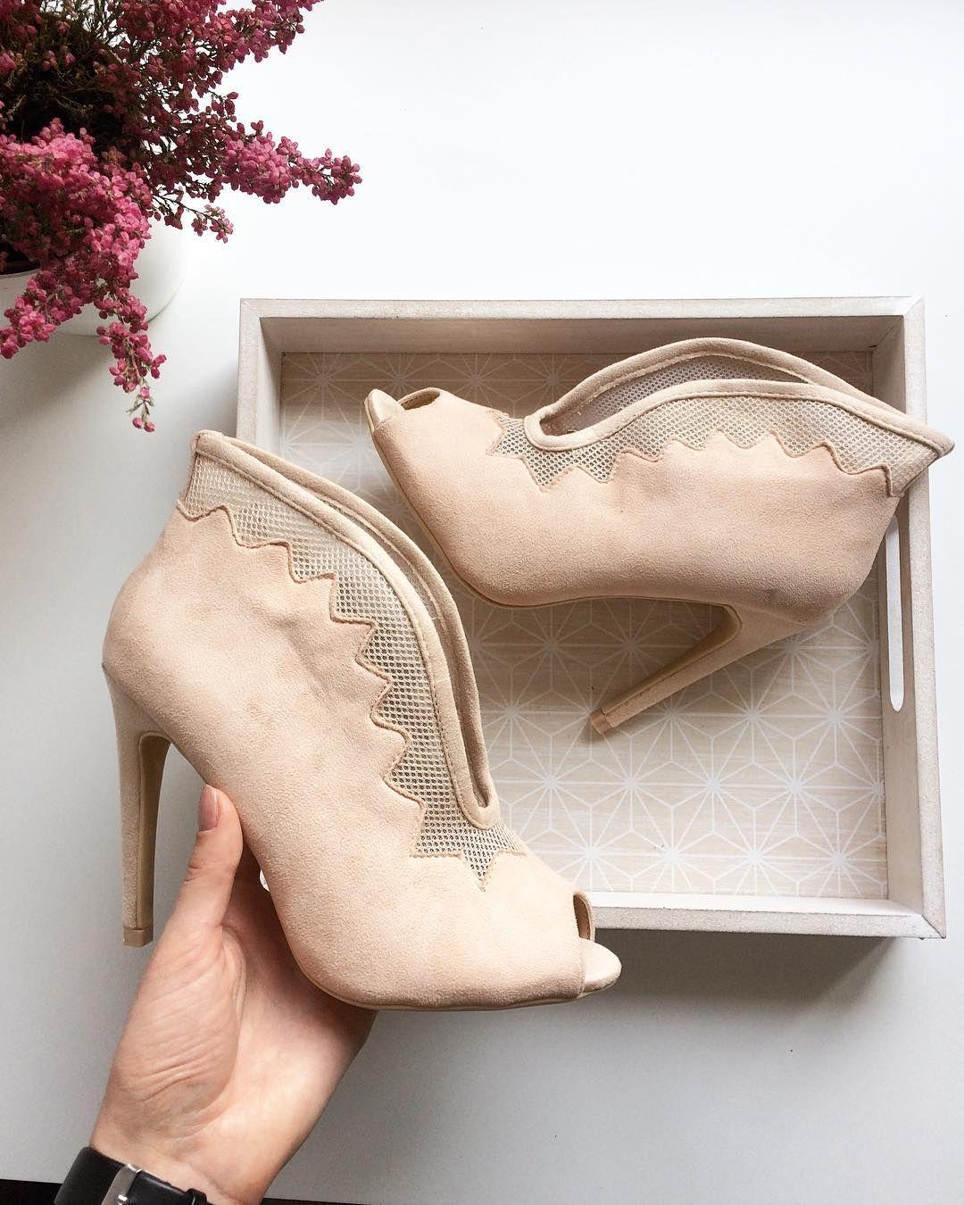 Bezowe Botki Bez Palcow Www Buciarnia Pl Wedding Shoe Instagram Posts Instagram