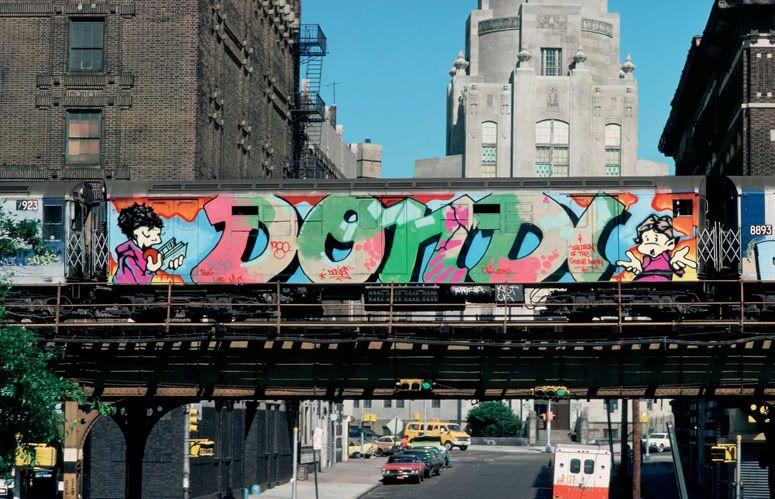 Dondi Train In The Bronx Nyc Graffiti Graffiti History Famous