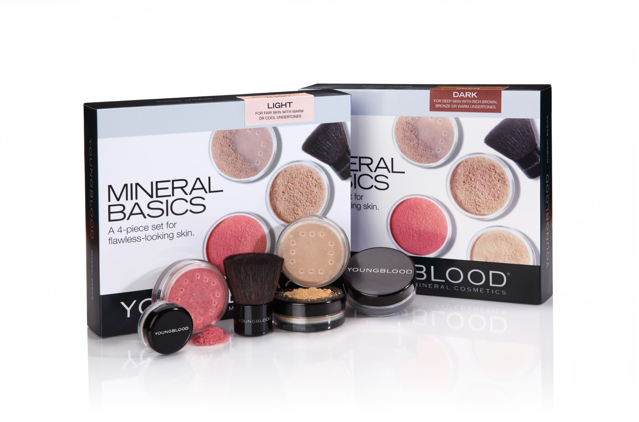 Mini Basics Youngblood mineral cosmetics, Foundation kit
