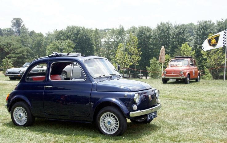 1967 Fiat 500. This one won the Fiat Category @CortilePVGP show in 2011. @FIAT USA