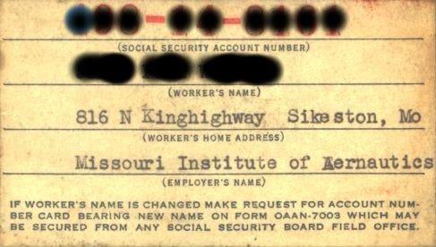 Covert Retrieval Urban Legend or Hidden History? (CovertRetrieval - social security request form