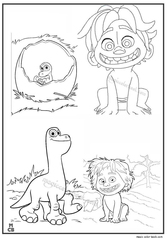 Printable Disney Characters Coloring Pages For Kids