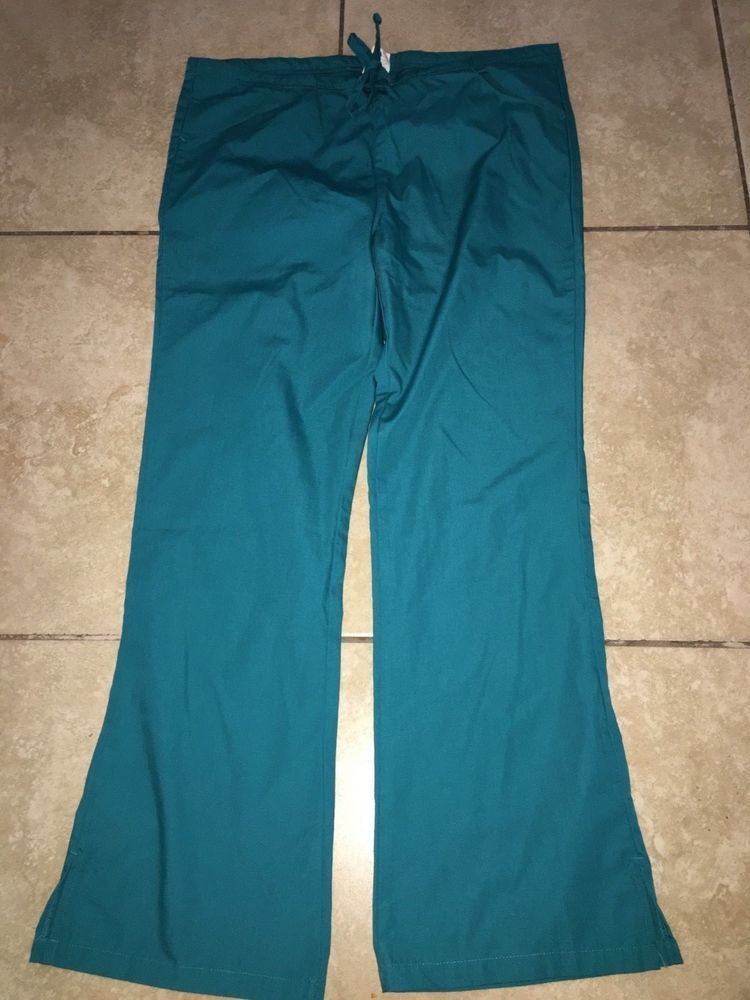 b697bdfe7db MENS OR WOMENS UNISEX SIZE SMALL TEAL SCRUBS PANTS DOCTOR NURSE DICKIES  POLYESTE  fashion  clothing  shoes  accessories  uniformsworkclothing   scrubs (ebay ...