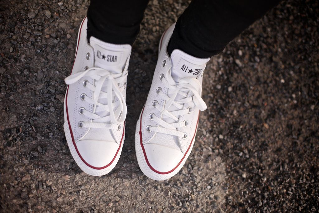 Who said, I cant wear me converse, with my dress?? Well baby, that's just me.