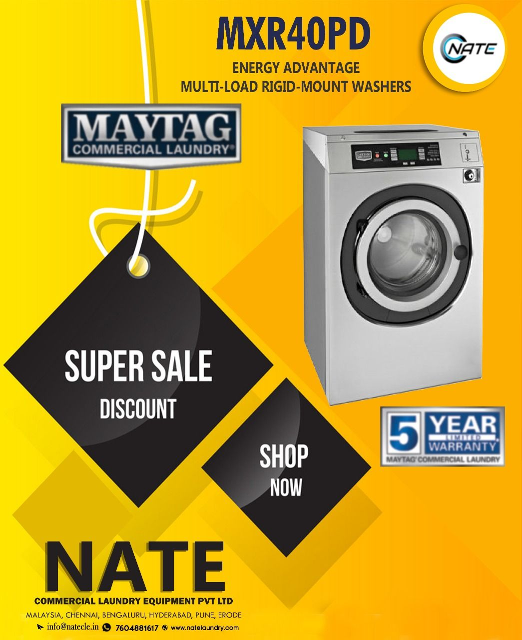 Shop Imported Maytag 15kg Washer For Sale Maytag Usa Commercial Laundry 10 Off 5 Year Warranty Call Laundry Equipment Commercial Laundry Laundry