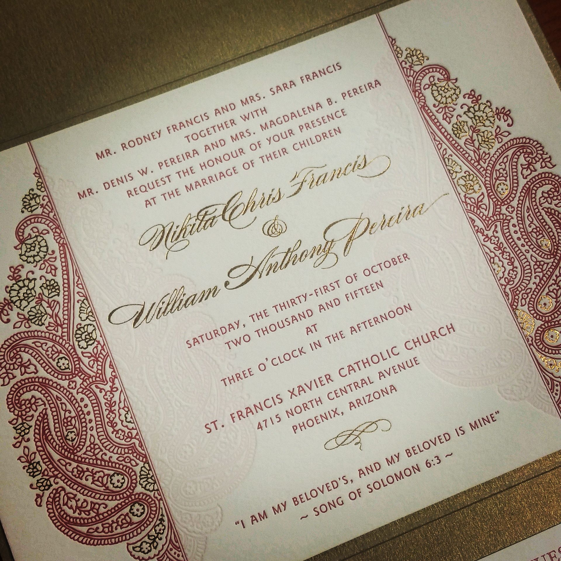 Staff Picks – Indian Wedding Invitations - Sunita is one of our ...