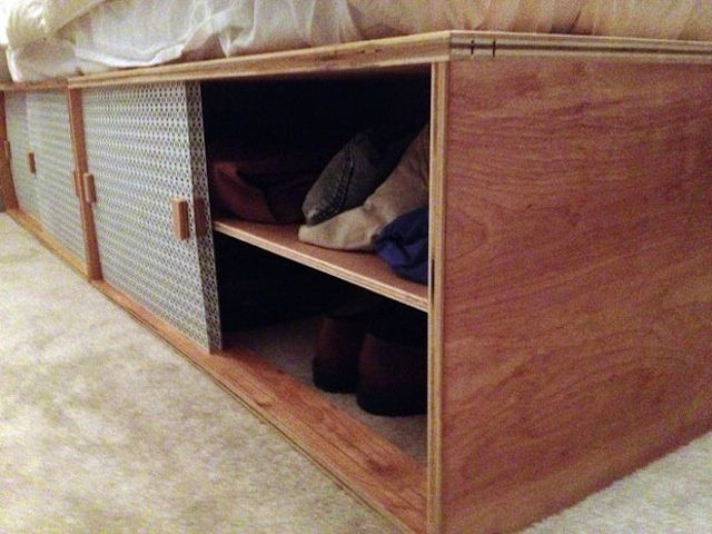 How To Build A Modern Space Saving Box Bed Stuff To