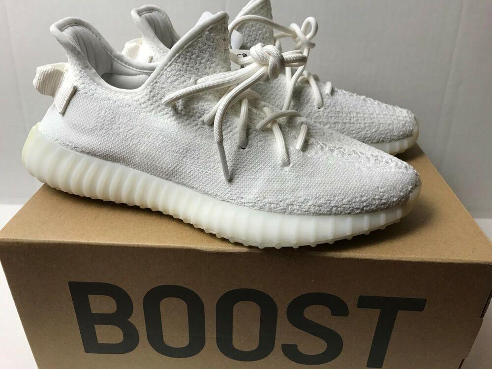 427e60b2e3aa1 eBay  Sponsored New Adidas Men s Yeezy Boost 350 V2 Triple White CP9366