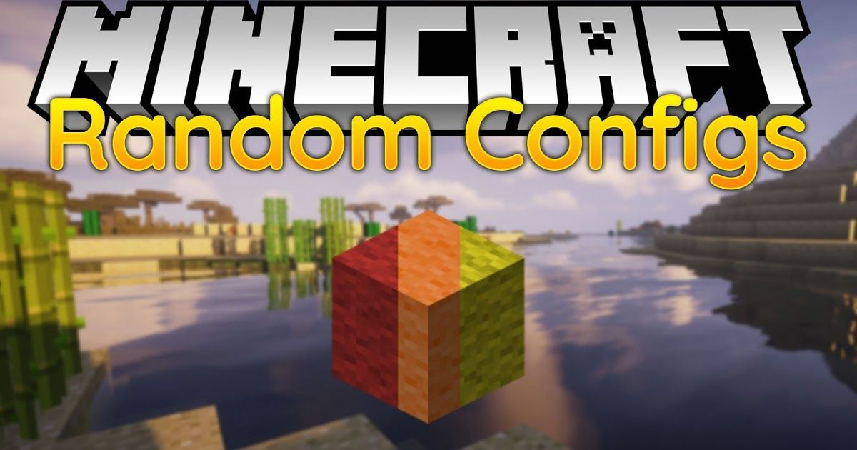 Randomconfigs Mod 1 14 4 1 12 2 Is A Utility Mod That Allows You To Set Default Configurations Game Rules Difficulties World Borde Minecraft Mods Mod Minecraft