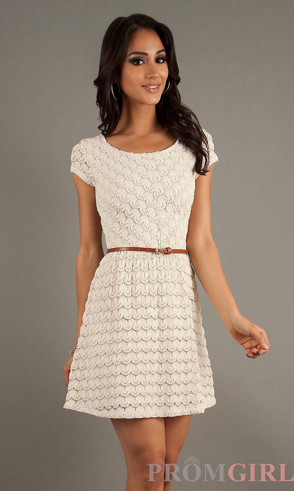 Short Cap Sleeve Summer Dress | Summer dresses and Casual summer ...
