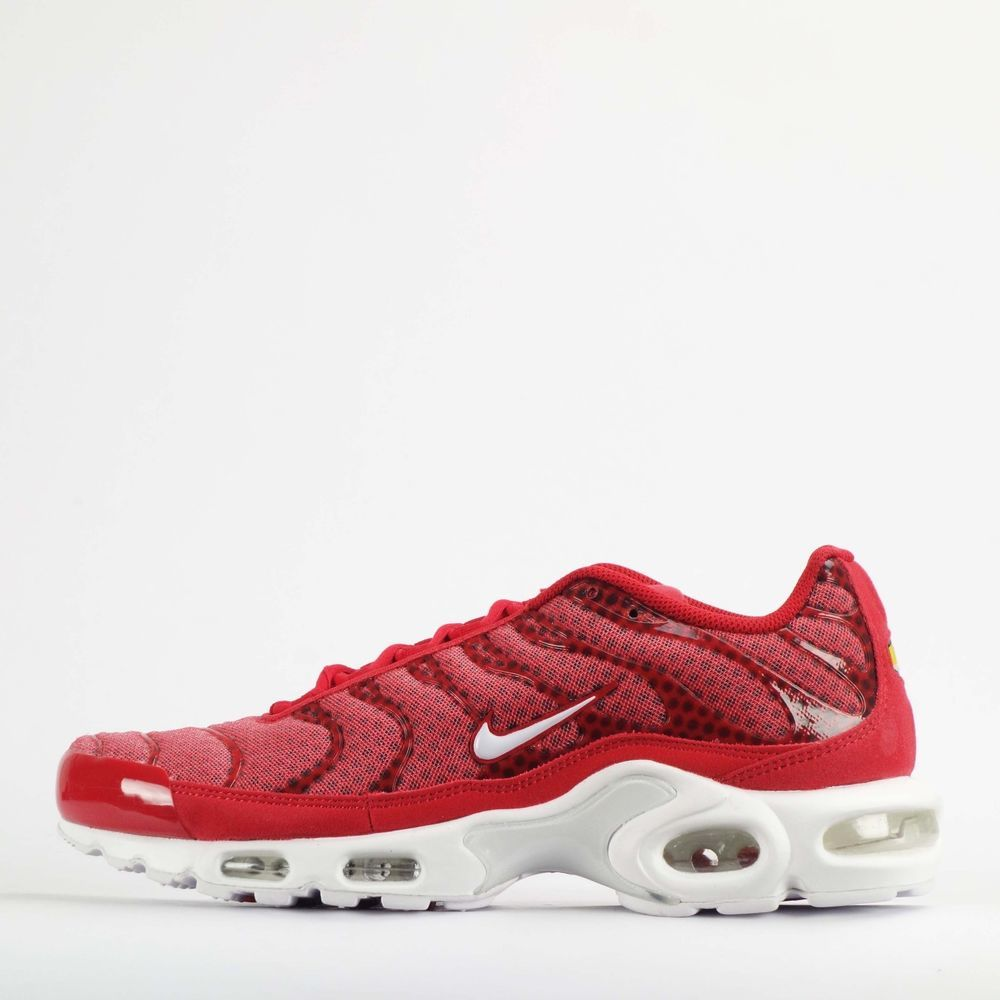 air max plus red white