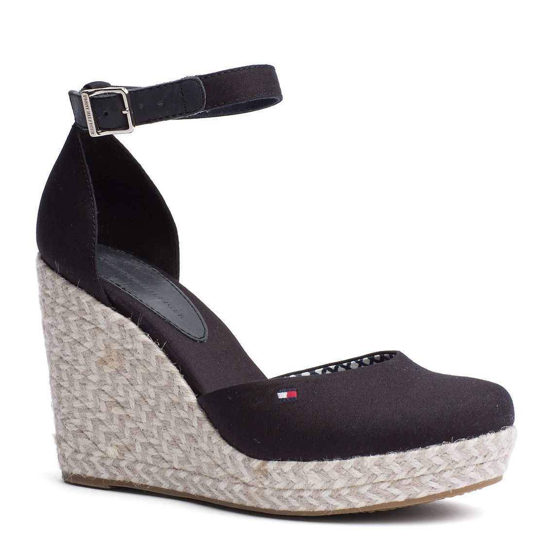 25770567bc30a Tommy Hilfiger wedge - Emery black espadrille   clothes   Pinterest ...