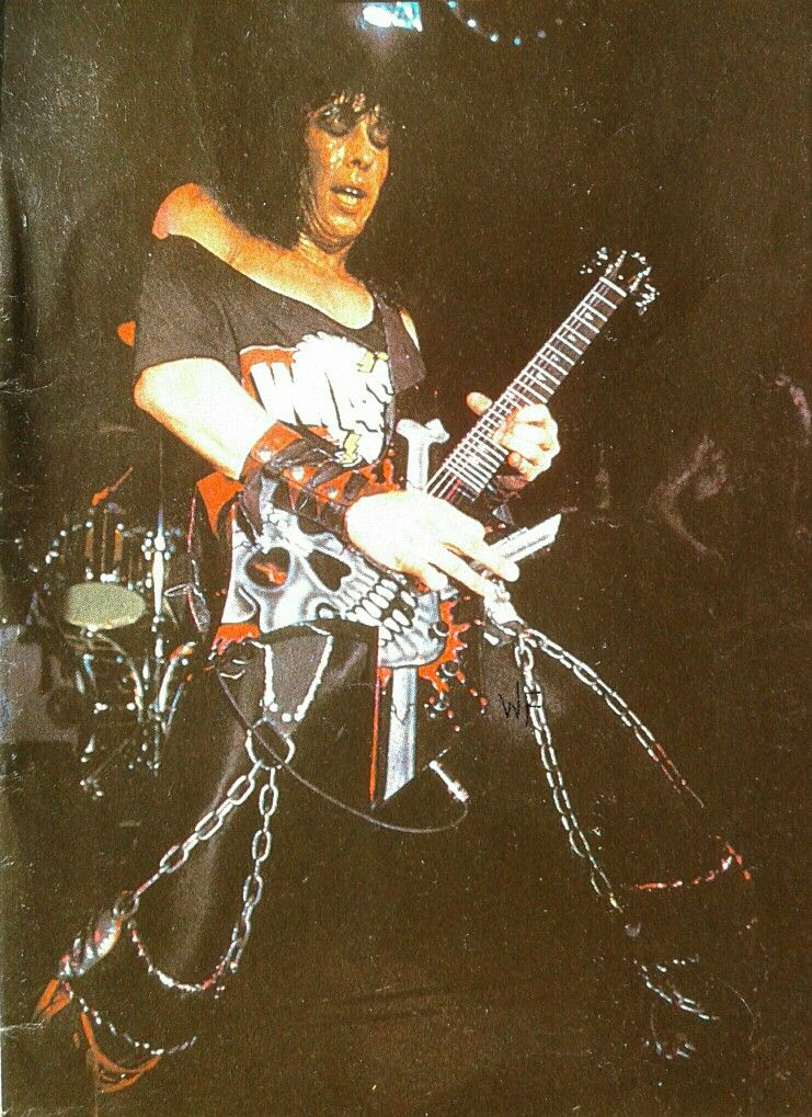 Randy Piper in W.A.S.P. #RandyPiper #wasp