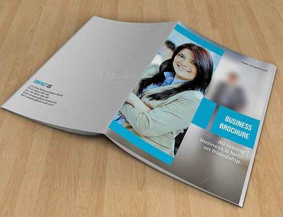 Bifold Brochure For BusinessV Creativework  Brochure