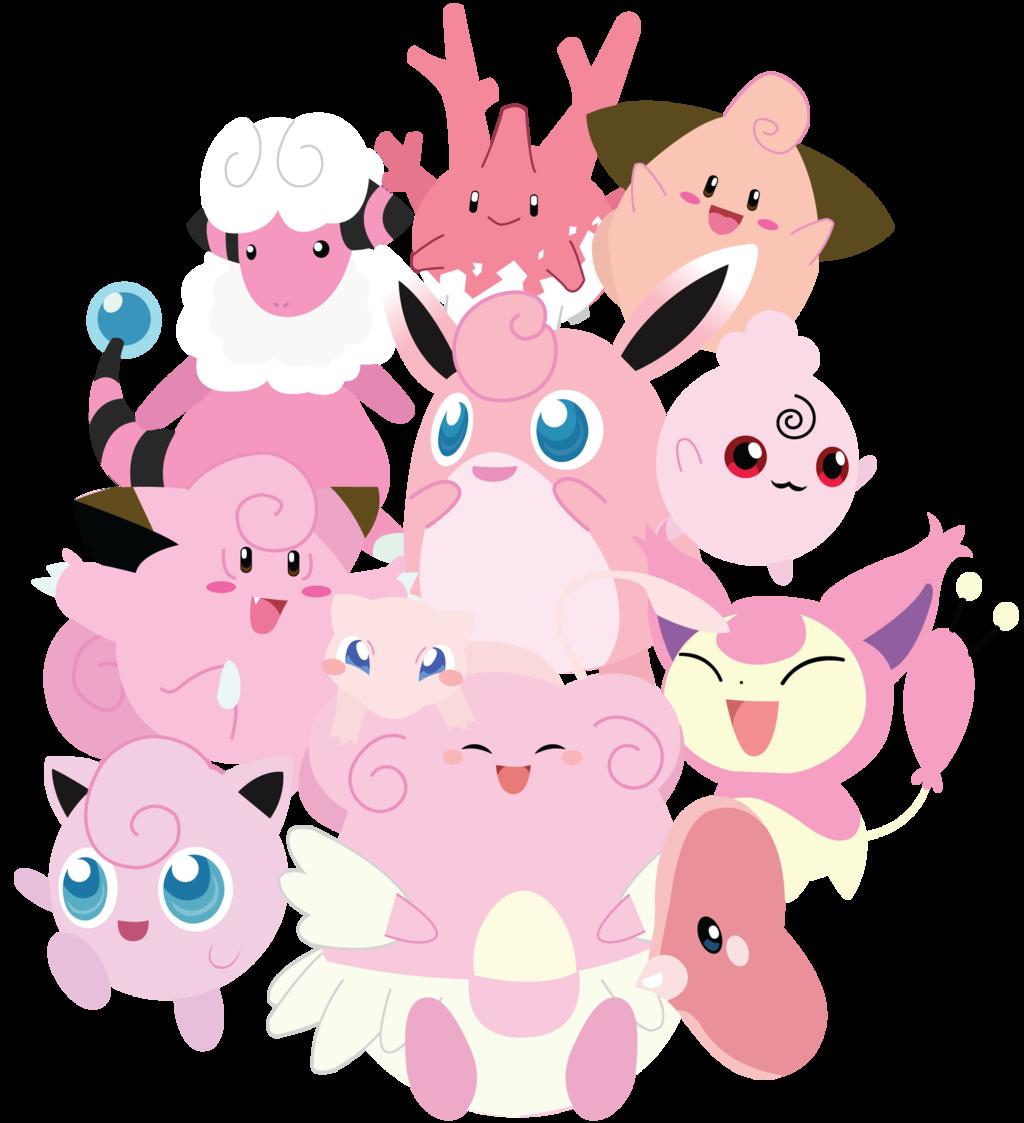 pokemon video games pink - photo #14