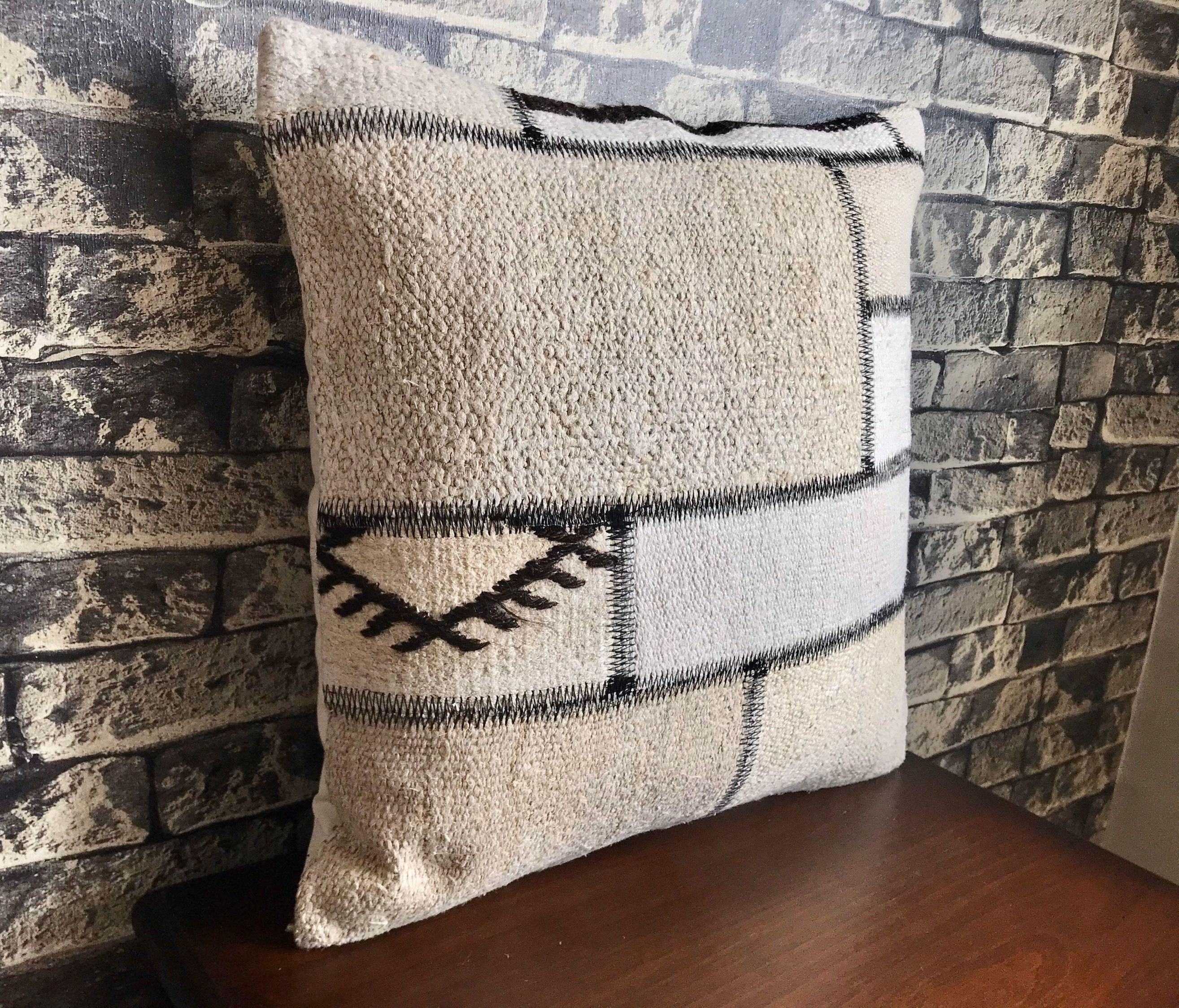 Throw Pillow Covers Hemp Cushions Boho