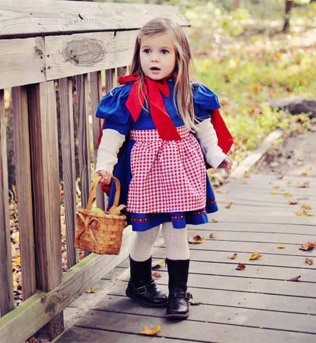 Disfraz casero de Caperucita Roja - Disfraces caseros y tiendas de disfraces para niños - Especiales - Charhadas.com