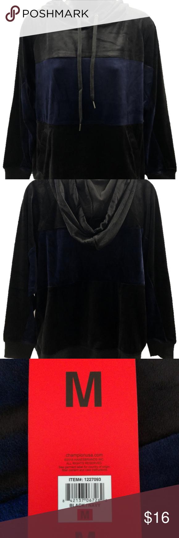Champion Elite Women S Velour Hoodie Velour Hoodie Hoodies Sweatshirt Tops [ 1740 x 580 Pixel ]