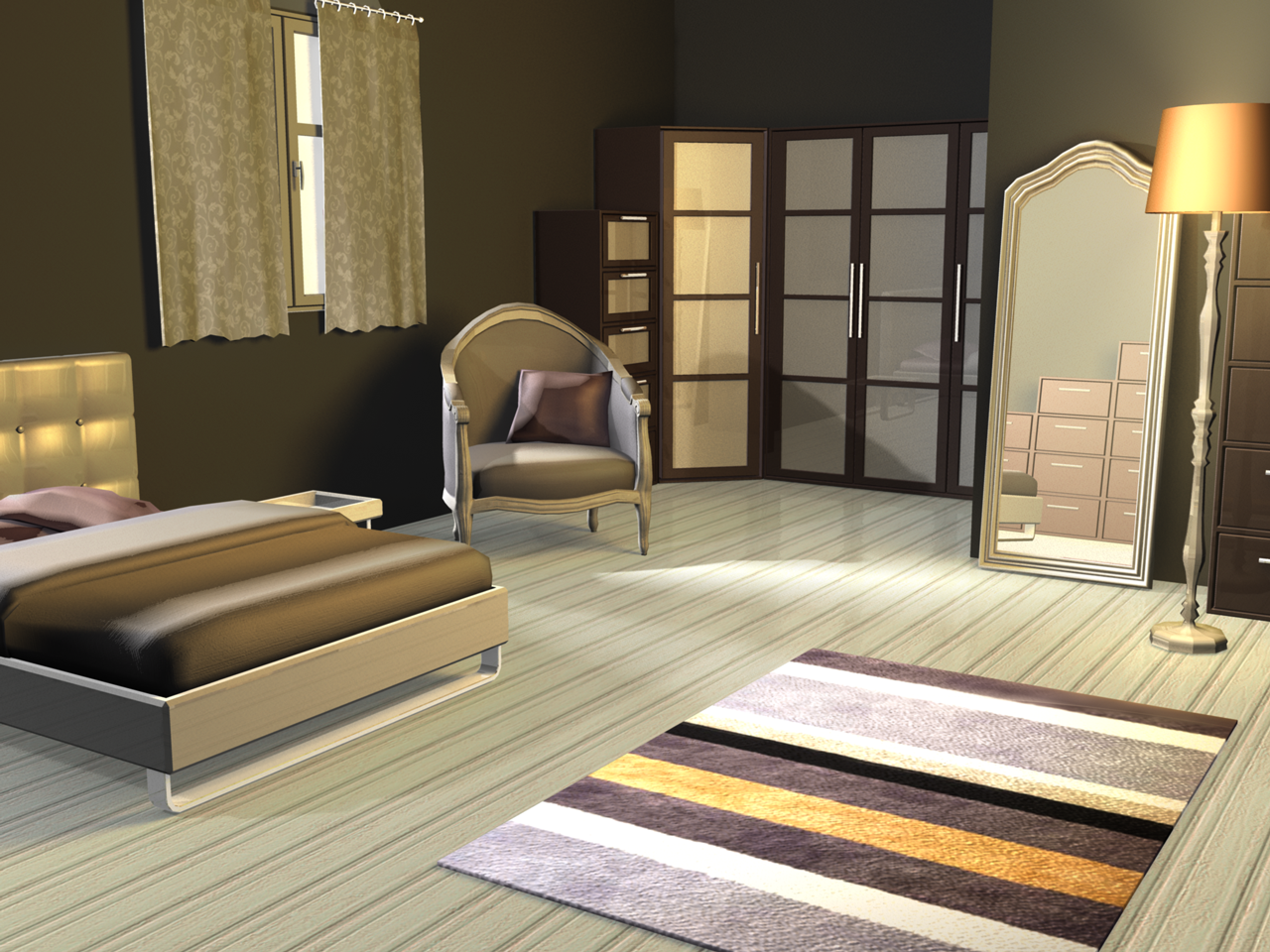 Bedroom Pack 7-4: Promotional Artwork For Home Design 3D
