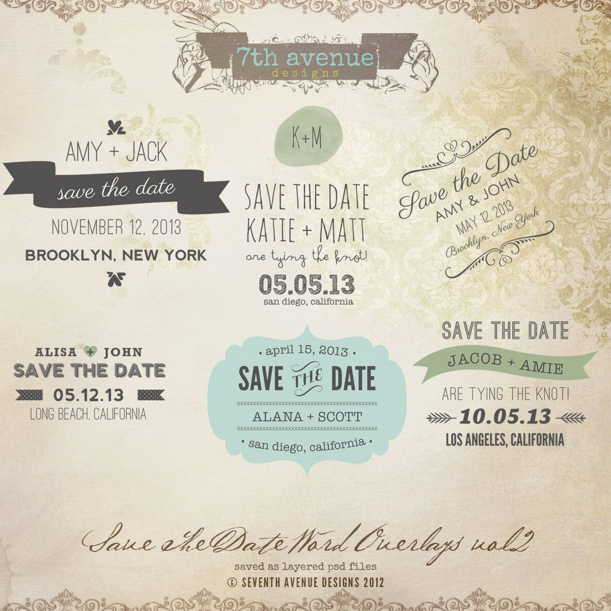 Instant Download Save The Date Words Overlays Vol 2 Etsy Save The Date Wording Save The Date Templates Save The Date Save the date word template