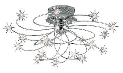 "Possini Euro Design Galaxy Chrome 28 1/4"" Wide Ceiling Light by Possini Euro Design, http://www.amazon.com/dp/B0013PTHLE/ref=cm_sw_r_pi_dp_QG6ksb14KWQ2K"