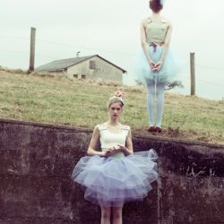 Inspiring shoot by Marie Hochhaus featured in Material Girl magazine recently.