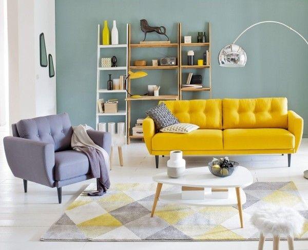 Tendance vintage dans un salon scandinave | Living room : l\'art de ...