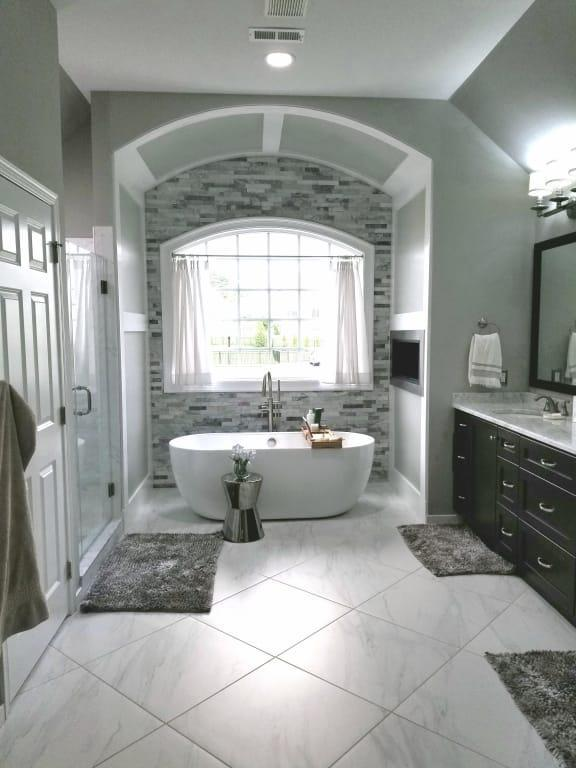 Looks Like The Arch In My Bathroom In 2020 Bathroom Layout