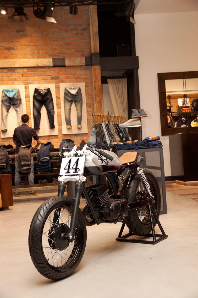 suzuki ax100 cafe racer by ace custom shop cafe racers. Black Bedroom Furniture Sets. Home Design Ideas