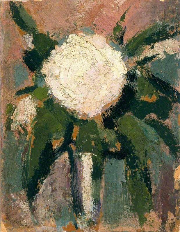John Duncan Fergusson 1874-1961 White Flower | Fergusson, John ...