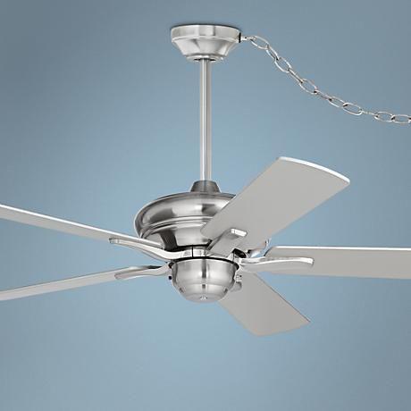 44 Casa Rosetta Brushed Nickel Swag Ceiling Fan Ceiling Fan Ceiling Fans For Sale Decorative Ceiling Fans