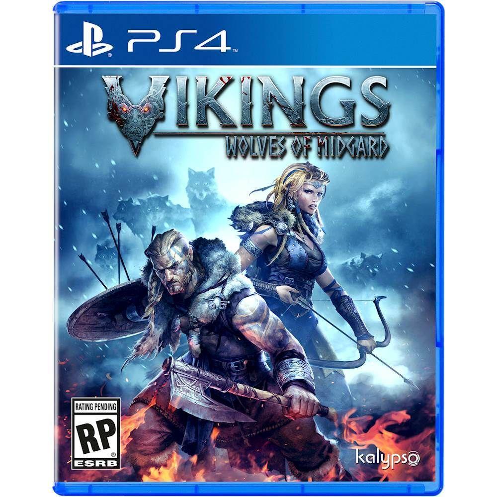 Vikings Wolves Of Midgard Playstation 4 Playstation 5 667 Best Buy Dvd Game