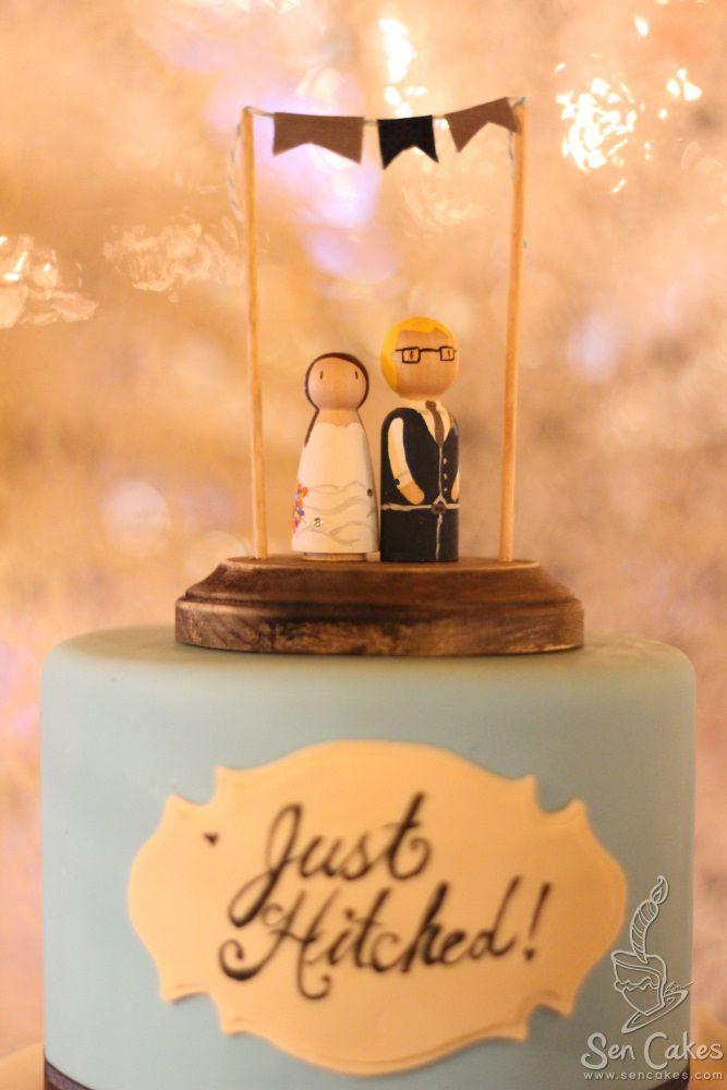 Edible Photograph Wedding Cake   Cake story, Cake, Cake ...