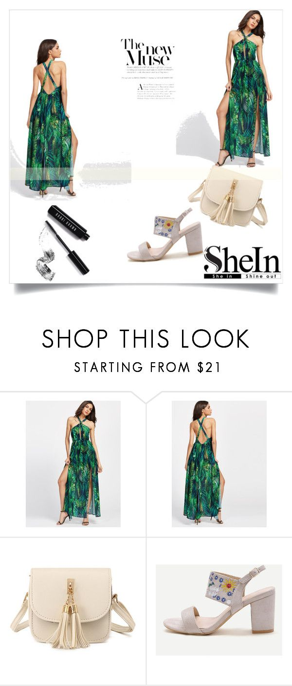 """""""SHEIN 80"""" by zerina913 ❤ liked on Polyvore featuring WithChic, Bobbi Brown Cosmetics and shein"""