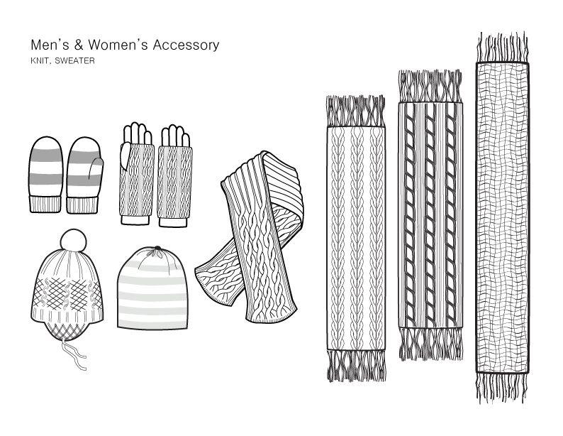 knit sweater fashion illustration google search