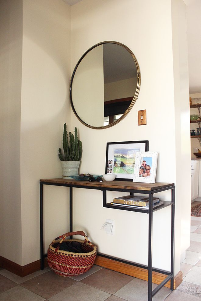 Compact Ikea Console Table Ideas