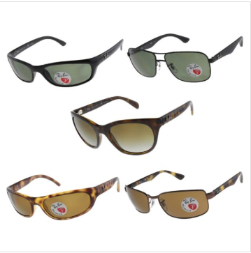 ec1467d82b64 eBay   Ray-Ban Polarized Unisex Sunglasses Just  46.39 W Code (Reg    178)