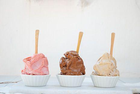 helado platano nice cream helado fruta raw