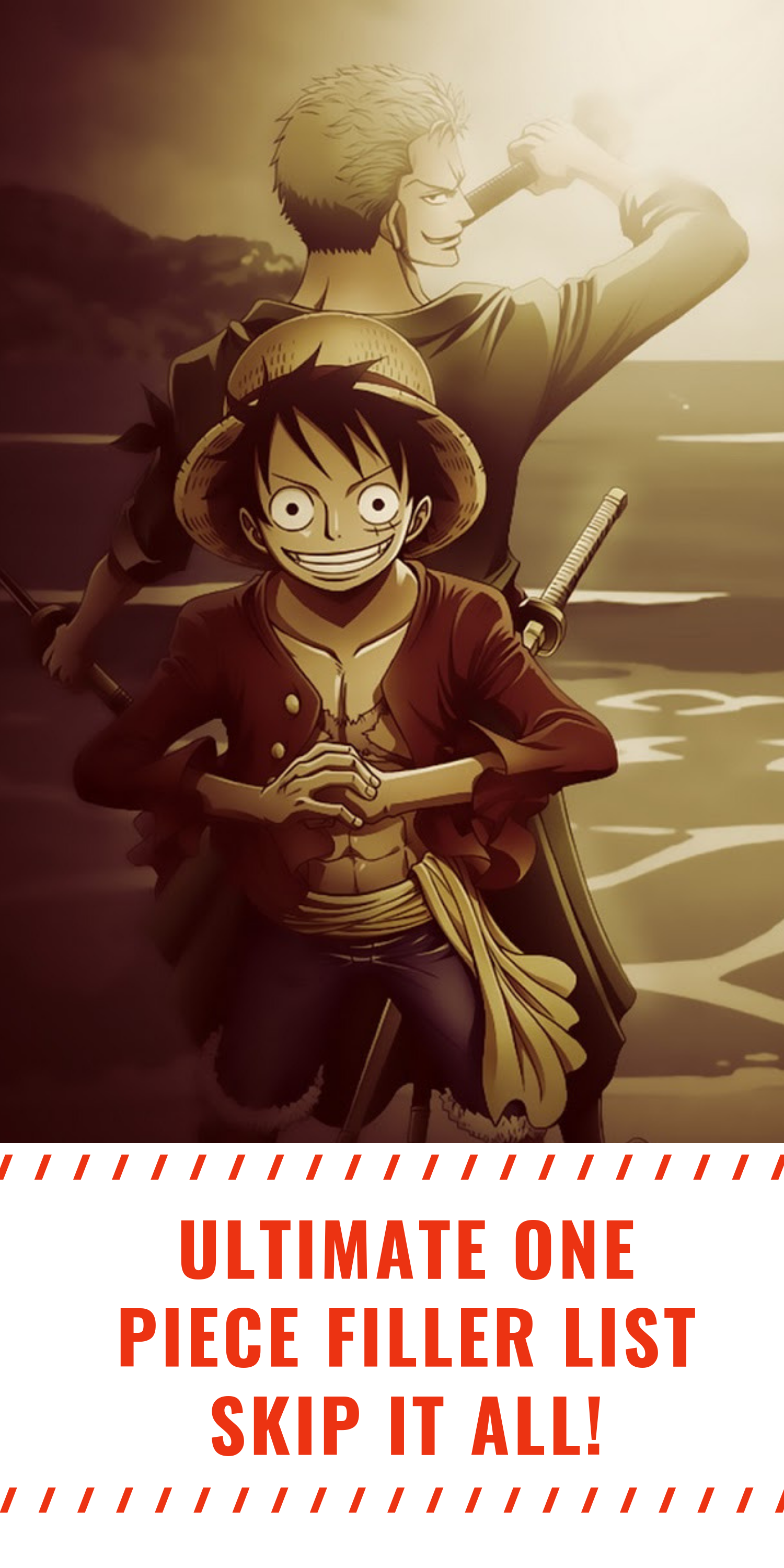 Ultimate One Piece Filler List Anime dragon ball, One