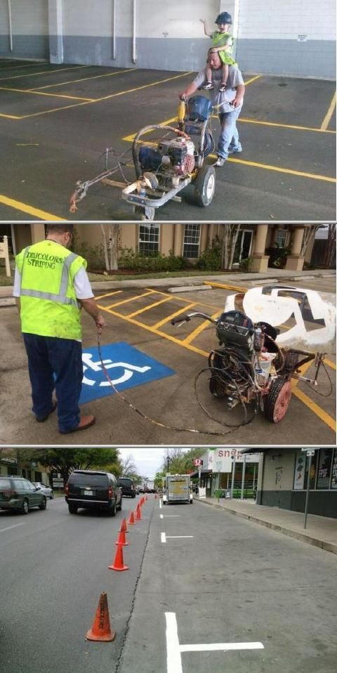 This company renders quality asphalt sealing work on driveways. They are among the most reliable driveway sealing companies in your area. They also render pavement marking and striping work and more.