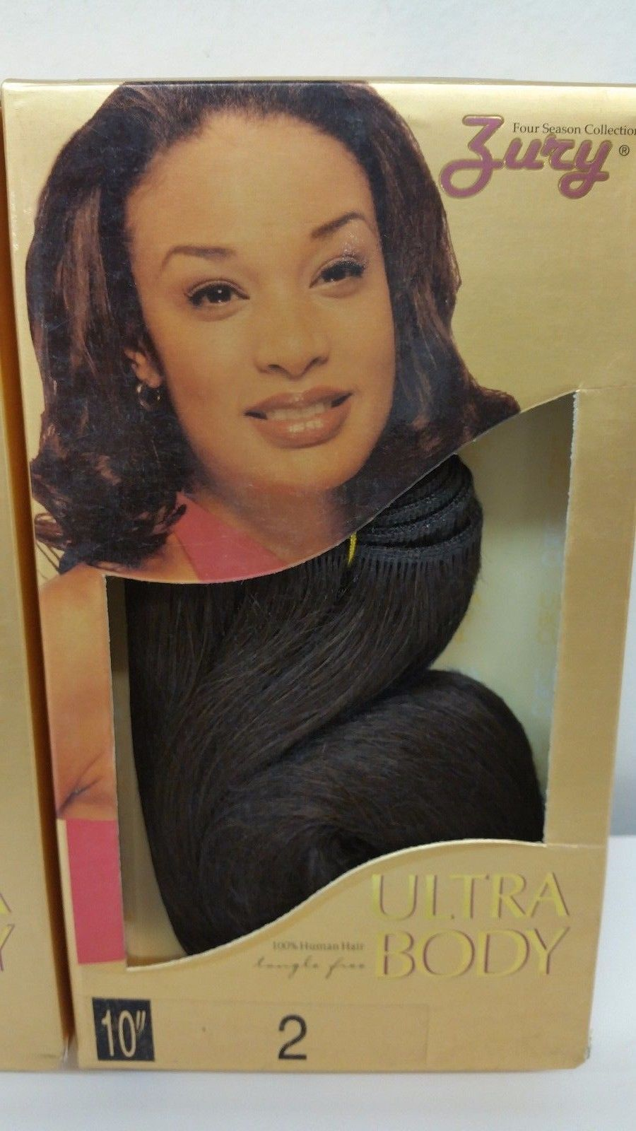 Zury Ultra Body 2packs100 Human Weave Hair 3pc 10 Color 2