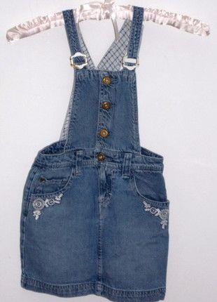 62d8d09a958 À vendre sur  vintedfrance ! http   www.vinted.fr mode-enfants robes  23442798-robe-en-jean-6-ans